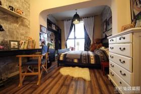 地中海式儿童房间布置效果图