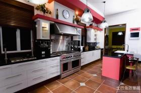 混搭风格厨房装修效果图片