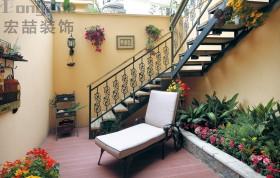 小别墅花园阳台装修效果图