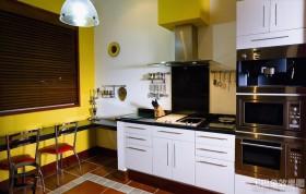 东南亚风格开放式厨房效果图片