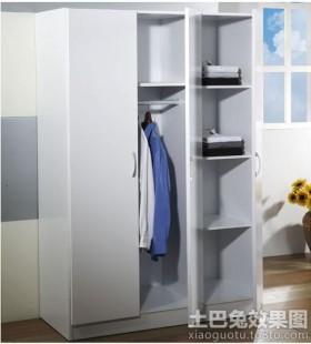 现代隔断衣柜装修