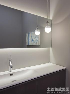 极简主义卫生间镜前灯图片
