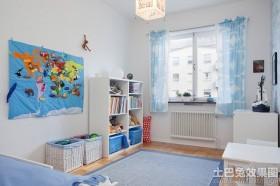 创意风格卧室两室两厅效果图