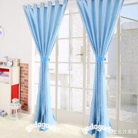 地中海风格儿童房窗帘