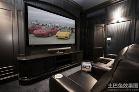 现代欧式家庭影院装修案例