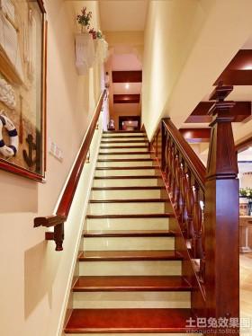 田园楼梯装修效果图