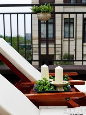 现代简约风格两室两厅阳台装修效果图