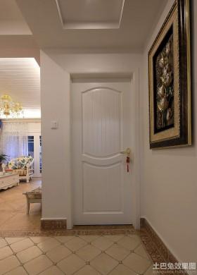 玄关装饰画家庭玄关装修效果图