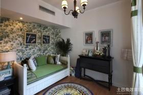 混搭风格小客厅沙发图片