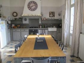 开放式餐厅厨房设计效果图