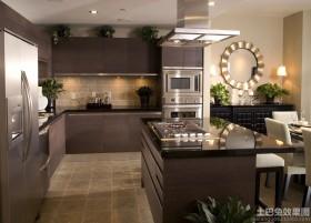 开放式厨房 厨房设计效果图图片
