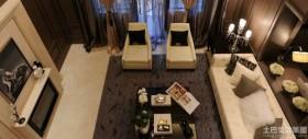 50平现代简约客厅装修效果图片大全