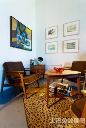 创意混搭风格小客厅设计图片