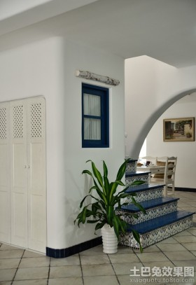地中海风格小别墅室内设计效果图