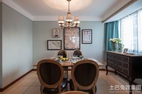 美式餐厅两室一厅装修效果图
