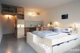 日式简约小型公寓装修效果图