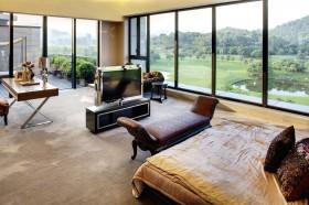 现代别墅30平米卧室装修效果图