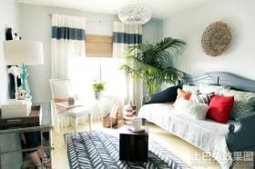 混搭风格小户型客厅整体设计