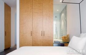 卧室壁柜门图片