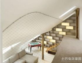 现代风格带阁楼的房子装修