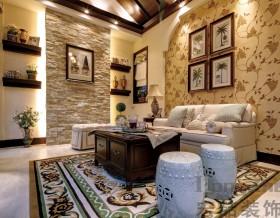 混搭风格家装客厅设计效果图