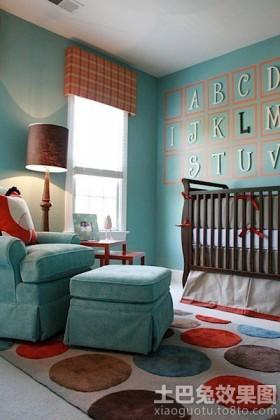 儿童房装修样板间效果图