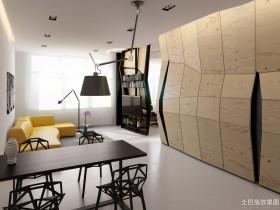 时尚现代单身公寓设计