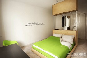 简约单身公寓设计效果图