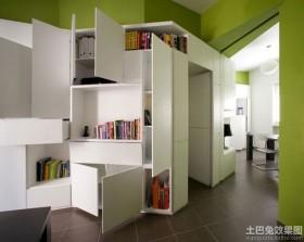 简约时尚单身公寓设计效果图
