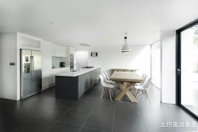 极简风格室内地板砖装修图片