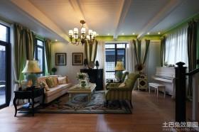 混搭风格二居室大厅装修