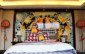 儿童房墙绘图片