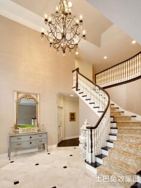 欧式风格楼梯装修效果图大全2016图片