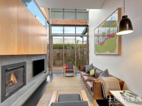 创意风格两室两厅装修效果图