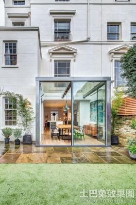 现代风格豪华别墅外观装修效果图