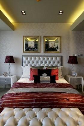 新古典主义风格卧室装修效果图片