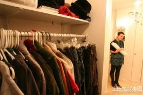 现代风格衣帽间装修效果图片