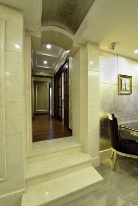 欧式风格玄关欧式门洞装修效果图片