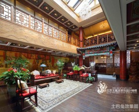 中式古典装修效果图欣赏