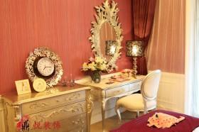 新古典装修风格卧室梳妆台效果图