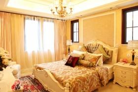 暖色调装修欧式卧室效果图