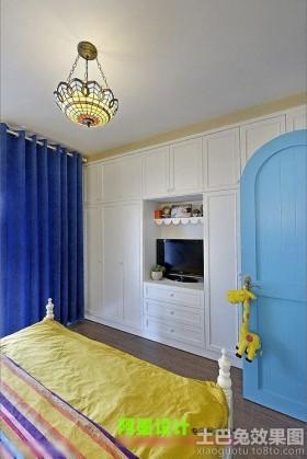 地中海风格别墅卧室装修效果图欣赏