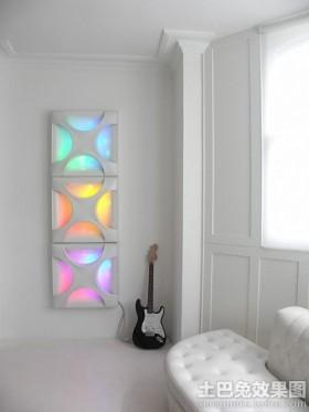 客厅墙角装饰