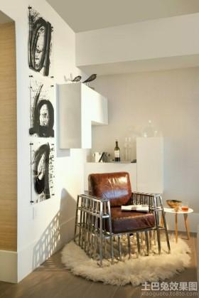 时尚家居墙角装饰效果图