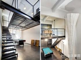 现代LOFT公寓效果图