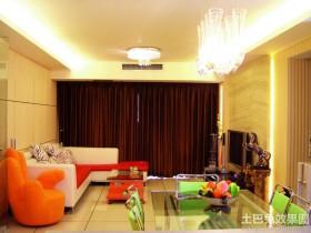 混搭风格客厅装潢图片欣赏