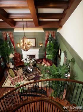 地中海风格楼梯装修效果图片