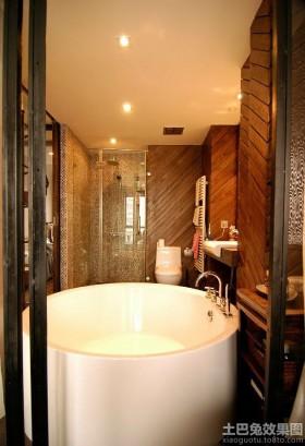 家用圆形浴缸图片