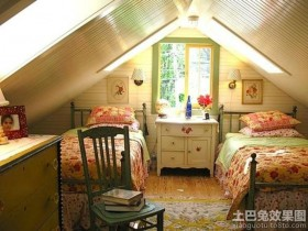 卧室阁楼效果图装修