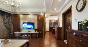 欧式古典风格三室两厅装修效果图